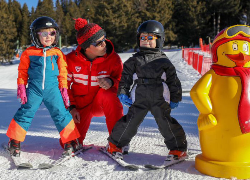 Cours de Ski + hébergement